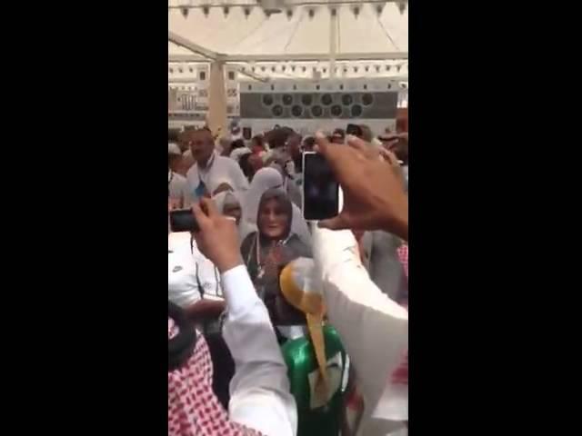 استقبال أهالي المدينة المنورة للحجاج في مطار الأمير محمد بن عبدالعزيز