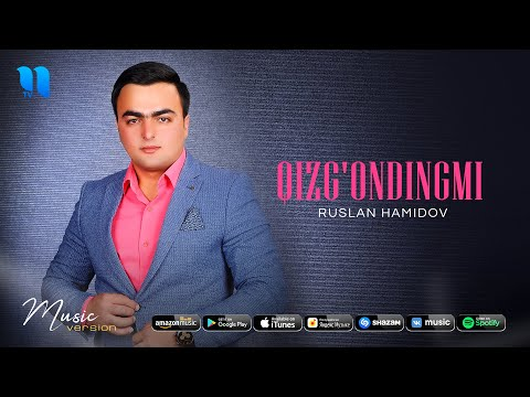 Ruslan Hamidov - Qizg'ondingmi (audio 2020)