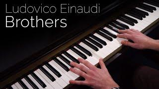 Ludovico Einaudi - Brother - Piano Cover [HD]