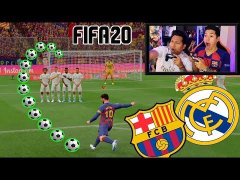 BARCELONA Vs REAL MADRID con CASTIGO 😱 FIFA20 (Edson FDB)