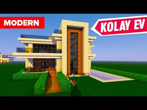 Minecraft Modern Ev Yapımı