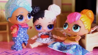 LOL SURPRISE DOLLS Finally Go Home And Sparkles Gets Bossy With Her Sisters!
