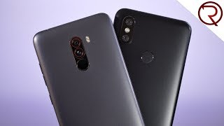 Xiaomi Pocophone F1 VS Xiaomi Mi A2 Camera Comparison!