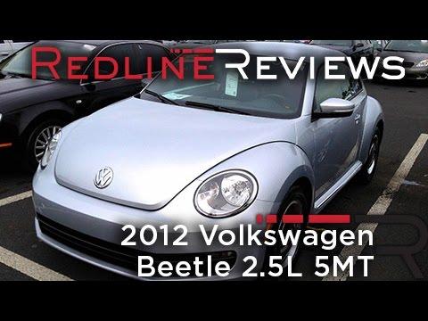2012 Volkswagen Beetle 2.5L 5MT Review