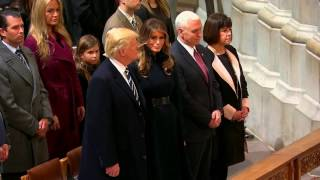 WATCH: President Donald Trump Attends National Prayer Service at National Cathedral