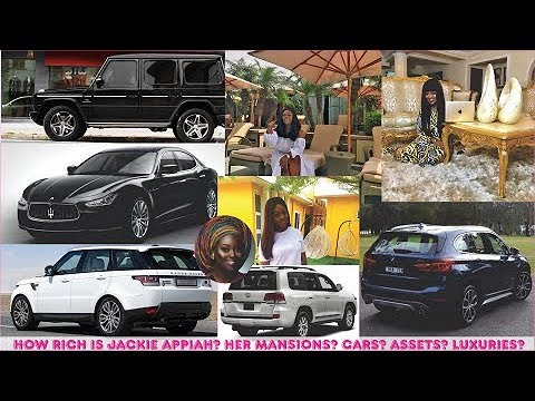 How rich is Jackie Appiah? ► All her Mansions, Cars, Companies, Luxuries & Assets