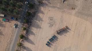שבועות בצופר 2019 -רונדו טרקטורים צילום רחפן אורי ליבני(1 סרטונים)