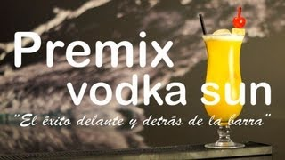 preview picture of video 'Magic Drinks - Vodka Sun Premix - Cocktail'
