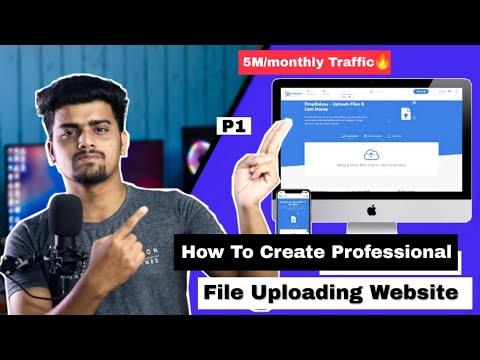 How To Create Professional File Uploading Website | File Upload Website like DropGalaxy Zippyshare