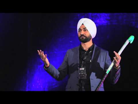 Drag flicking a 'Bullet' | Sandeep Singh | TEDxMICA