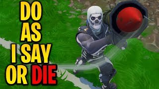 """Playing """"CRISPY SAYS"""" In Fortnite Battle Royale #2"""