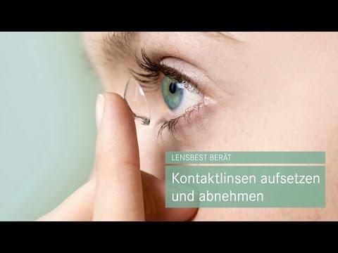 Kontaktlinsen aufsetzen und abnehmen - Tipps von Lensbest