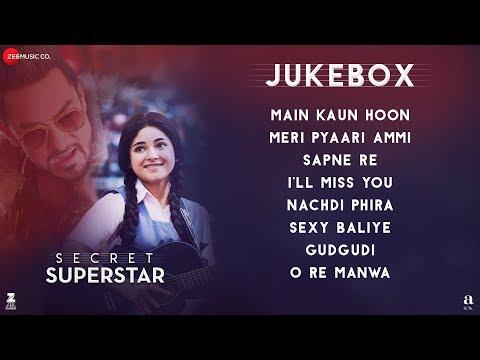 Secret Superstar - Full Movie Audio Jukebox | Aamir Khan | Zaira Wasim | Amit Trivedi | Kausar Munir