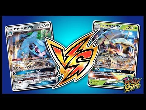 Metagross GX vs Golisopod GX – Pokemon Trading Card Game Online Gameplay