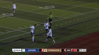 Boys' soccer highlights: Ledyard 6, Stonington 2