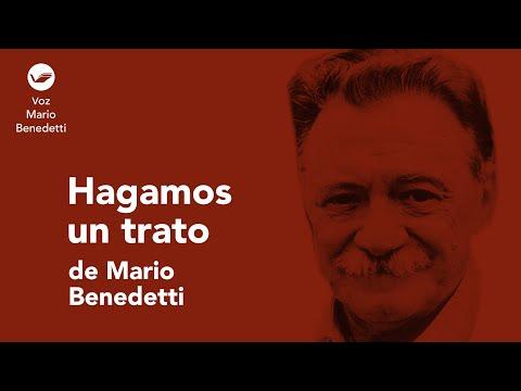 'Hagamos un trato', Mario Benedetti