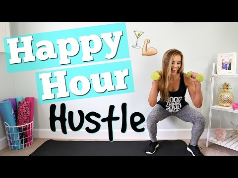 Happy Hour Hustle Workout! | Full Body Fat BURN!