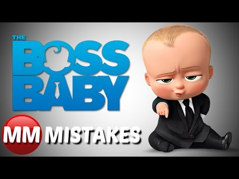 10 The Boss Baby Mistakes You May Have Missed   Boss Baby Movie Goofs