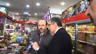 zeytinburnu esnafının belediye başkanını ile suriyeli tartışması