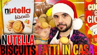 """Nutella Biscuits Fatti In Casa , la Mia Ricetta Facile e Golosa """"In Cucina con Ciccio"""""""