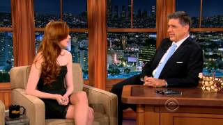 "Карен Гиллан, Karen Gillan on the ""Late Late Show"" 2012-11-28"