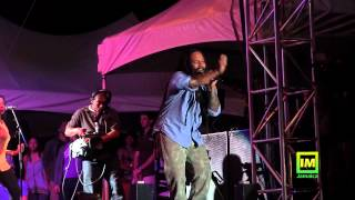 Kymani Marley at Bob Marley 70th Birthday Pt. 1
