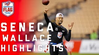 Seneca Wallace dominates Flag Football League! | NFL