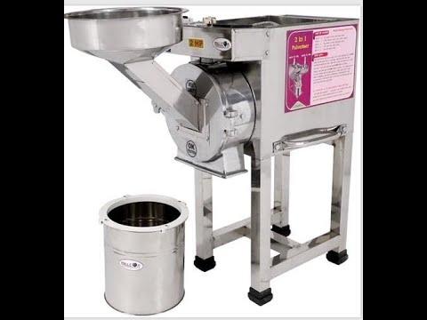 2 In 1 SS Pulverizer Machine