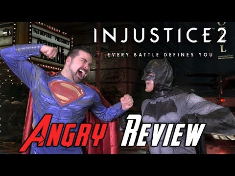 Injustice 2 Angry Review - YouTube video thumbnail