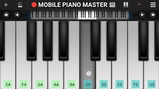 Aao Sunau Pyar Ki Ek Kahani Piano Tutorial    krrish    Hrithik roshan    Mobile Piano Tutorial