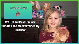 FurReal FRIENDS TOY REVIEW VIDEO- TOY WORLD WEEKLY