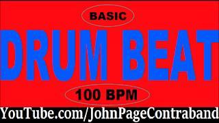 Basic Drum Loop Track 100 bpm 4/4 Half Hour Tool