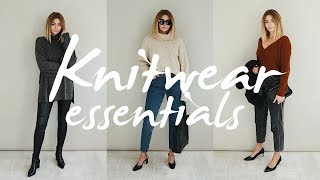 Autumn Knitwear Essentials & Outfit Ideas