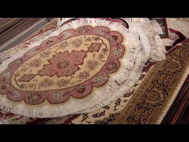 小さいペルシャ絨毯、上がりかまちサイズペルシャ、シルクの壁掛けやタペストリー