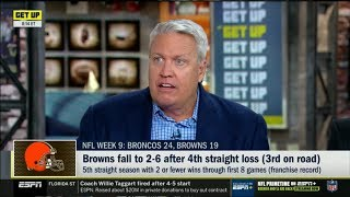 ESPN GET UP | Rex Ryan Report: Broncos def. Browns 24-19; Browns fall to 2-6 after 4th straight loss