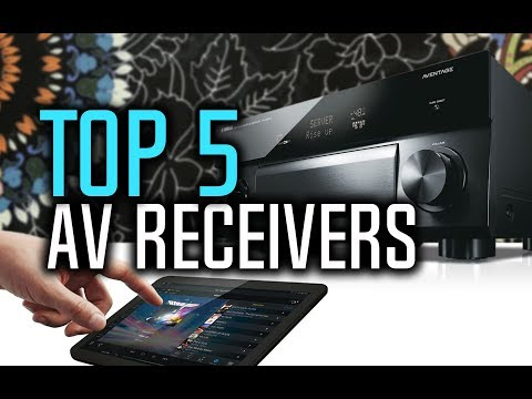 Best AV Receivers in 2018 - Which Is The Best AV Receiver?