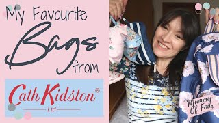 CATH KIDSTON BAG REVIEW | COMPARE CATH KIDSTON BAGS | NAPPY BAG | BACKPACK | FOLDAWAY TOTE