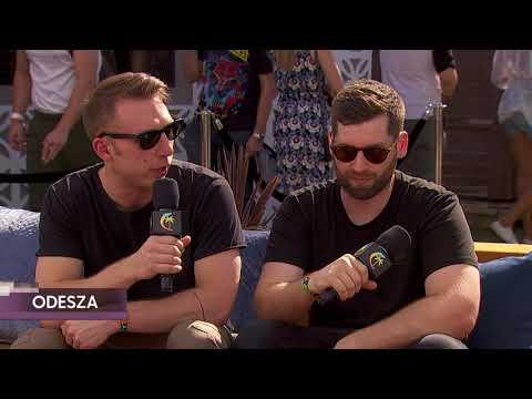 ODESZA Interview - Coachella 2018