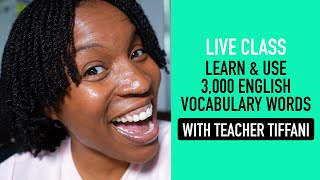 """LIVE ENGLISH CLASS 