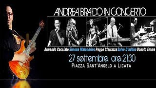 Andrea Braido in concerto - Licata 27 Settembre 2013