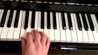 Beginner Piano Lesson How to Play Mary Had a Little Lamb
