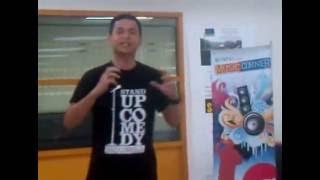 Ernest Prakasa Saat 3 Besar Stand Up Comedy Tahun 2011