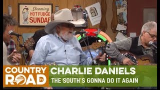 "Charlie Daniels sings ""The South's Gonna Do it Again"" on Larry's Country Diner"