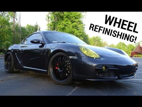 How To Refinish Porsche Wheels!