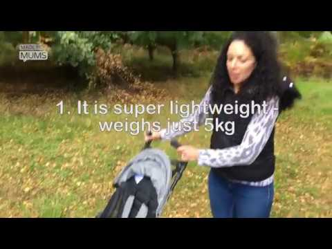 5 things you need to know about the Britax Holiday buggy | MadeForMums vlogger review