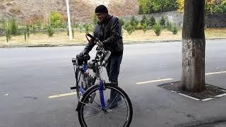 Qaxda belə kreativ texnologiyaya imza atan gənclərimiz də var - motorlu velosiped
