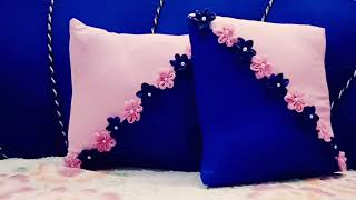DIY CUSHION COVER & PILLOW COVERS   How To Make Cushion Covers.