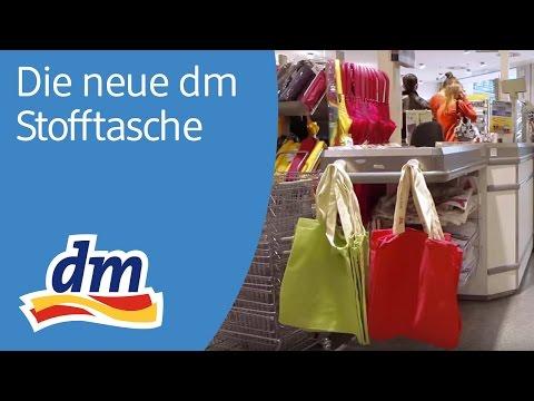 Die neue dm Stofftasche: manomama näht die Einkaufstaschen aus Bio-Baumwolle in Augsburg