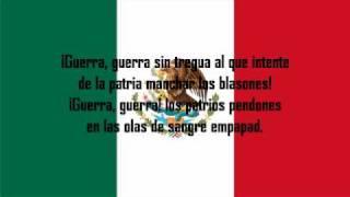 Himno Nacional Mexicano con Letra