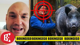 BREAKING: TYSON FURY PIG FARMER CAREFOOT REFUSES TO COOPERATE NOW, SCARED?